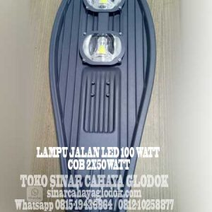 lampu pju led 100 watt