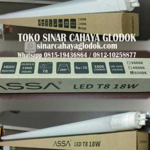 lampu tl led t8 merk assa