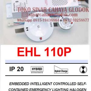 emergency halogen downlight merk samcom ehl110p