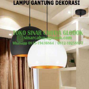 lampu gantung dekorasi