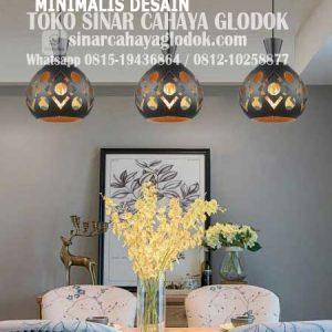 lampu gantung dekoratif minimalis