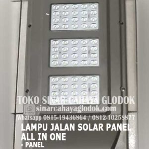 lampu jalan solar panel 60 watt