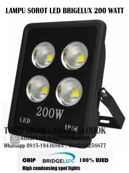 lampu sorot led brigelux 200 watt