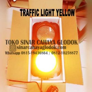 lampu traffic light kuning