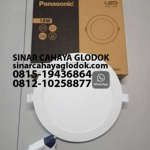 lampu downlight merk panasonic 18 watt