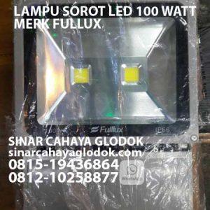 lampu sorot merk fullux 100 watt ip66