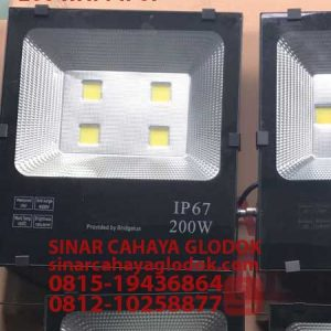 lampu sorot led brigelux ip67 200 watt