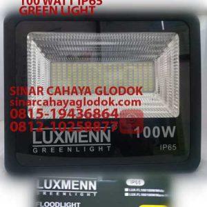 lampu sorot led 100 watt merk luxmenn