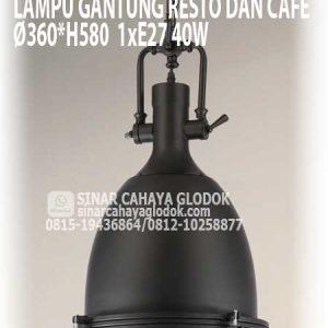 lampu gantung cafe resto