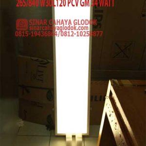 lampu philips 30x120 cm