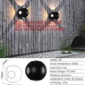 lampu dinding led minimalis