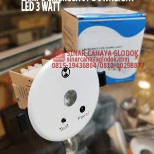 lampu emergency led downlight