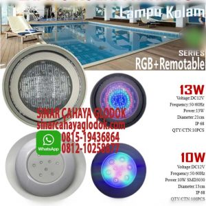 lampu underwater pool light