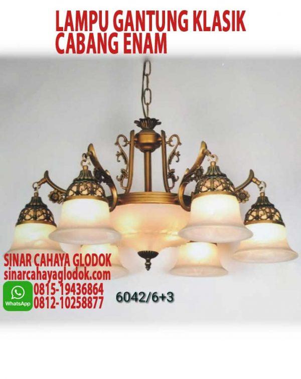 lampu gantung klasik