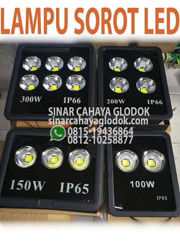 lampu sorot led 300w
