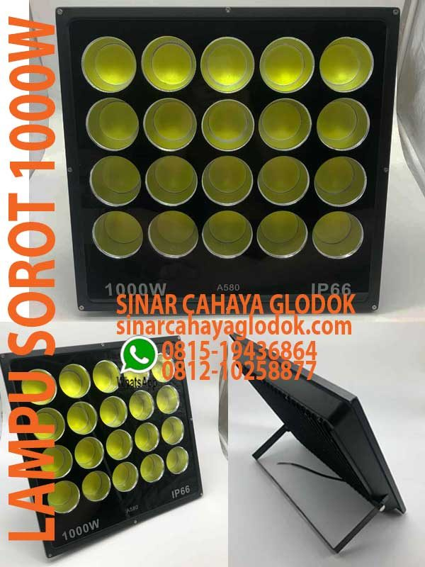 lampu floodlight 1000w ip66