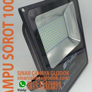 lampu floodlight 100w fullux