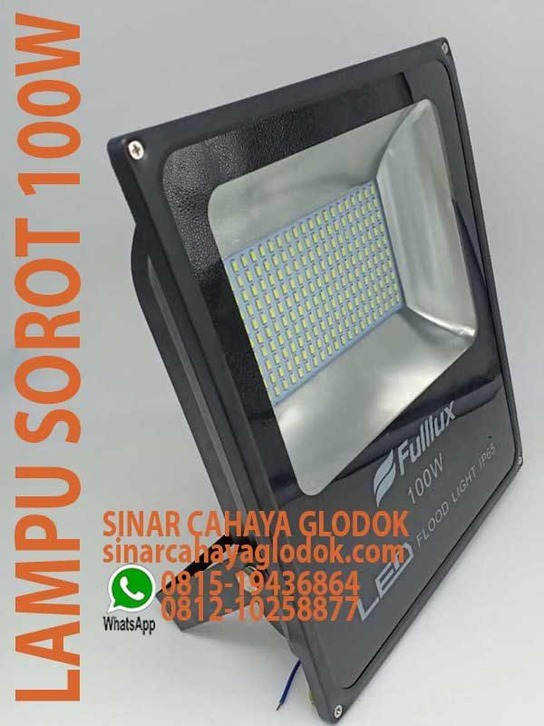 lampu floodlight 100w fullux