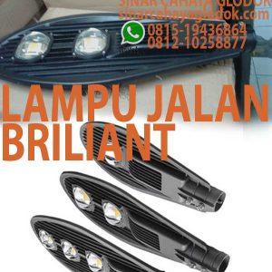 lampu jalan briliant 100w