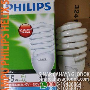 lampu ulir philips helix