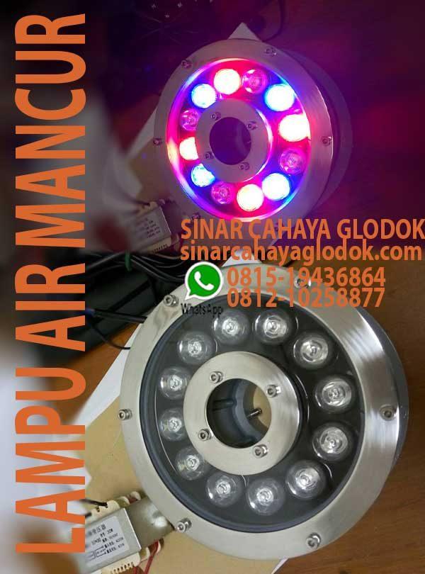 lampu air mancur 12w