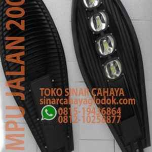 lampu jalan led 200w