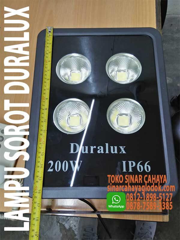 lampu sorot duralux 200w