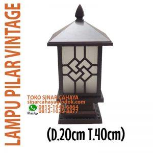 lampu taman pilar