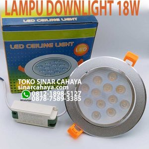 lampu downlight 12w